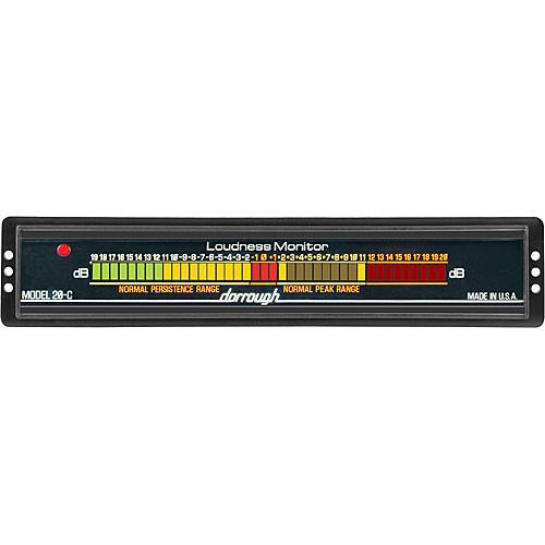 Dorrough  Analog Loudness Meter  20dB 20-C
