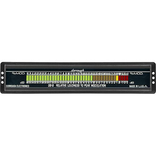 Dorrough  Loudness Meter w/Percent Modulaton 20-B