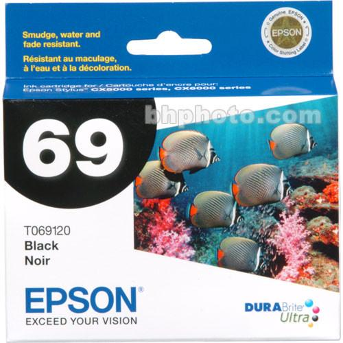 Epson  69 Black Ink Cartridge T069120
