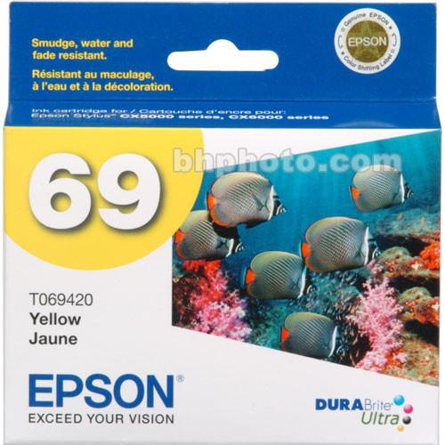 Epson  69 Yellow Ink Cartridge T069420
