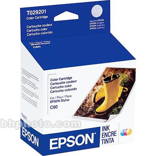 Epson Color Ink Cartridge for Stylus Color C60 T029201