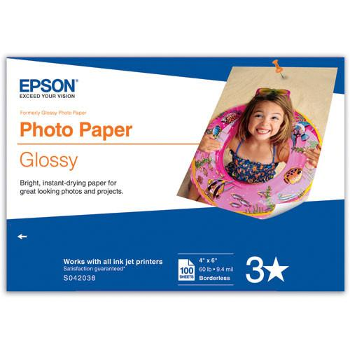 Epson Glossy Photo Paper (4 x 6