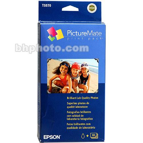 Epson  PictureMate Print Pack T5570