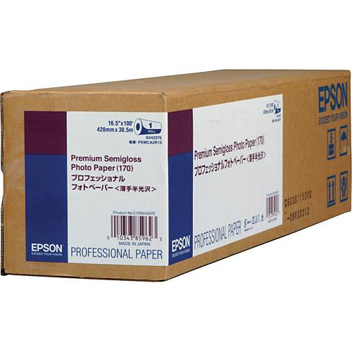 Epson Premium Semigloss Photo Inkjet Paper S042075