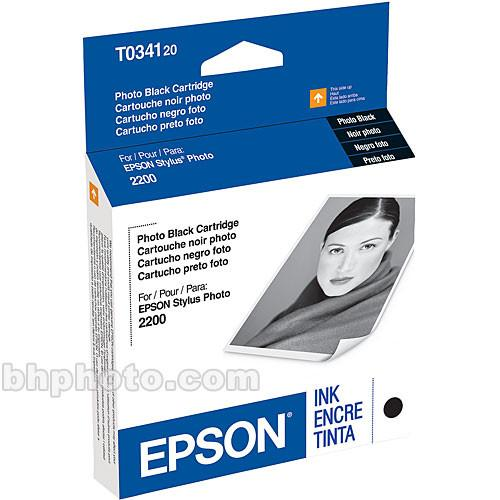 Epson UltraChrome Photo Black Ink Cartridge T034120
