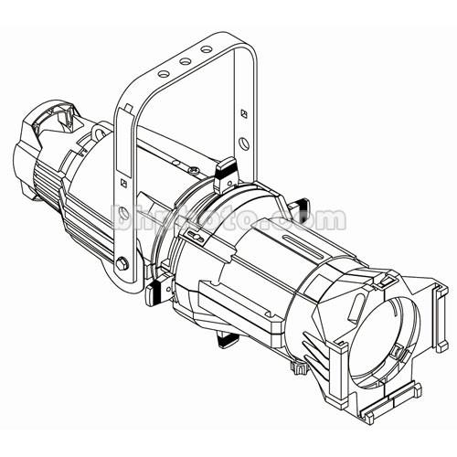 ETC Source 4 750W Ellipsoidal, White, 20A 7060A1010-1XC