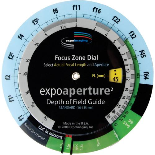 ExpoImaging ExpoAperture2 Depth-of-Field Guide - EXPOA02EDUN