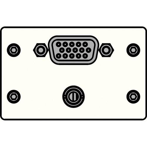 FSR IPS-AV921D-WHT IPS Audio/Video Insert (White) IPS-AV921D-WHT