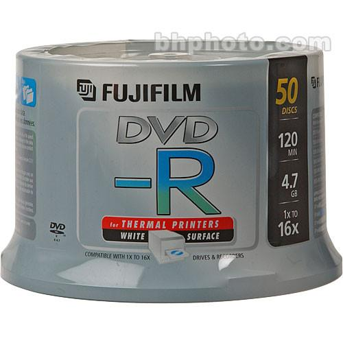 Fujifilm DVD-R 4.7GB 16x White Thermal (50) 15683754