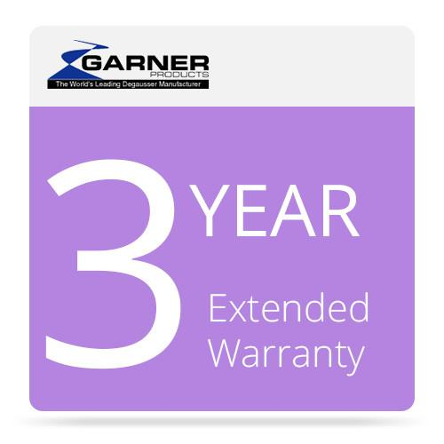 Garner 3-Year Extended Warranty for the CDS-2500A 3FW-2500A