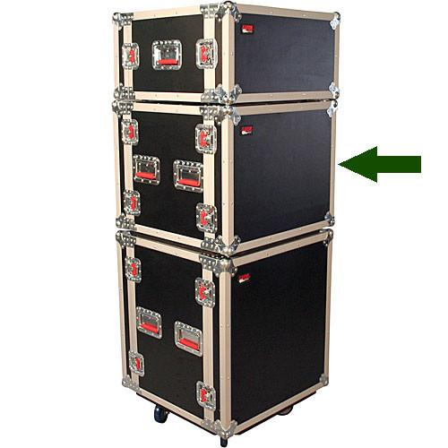 Gator Cases G-TOUR SHK-8-CAST Shock Rack Case G-TOUR SHK8 CAS