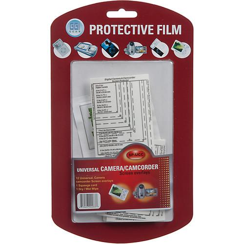 GGI Digital Camera/Camcorder Screen Protector Kit SPUCC