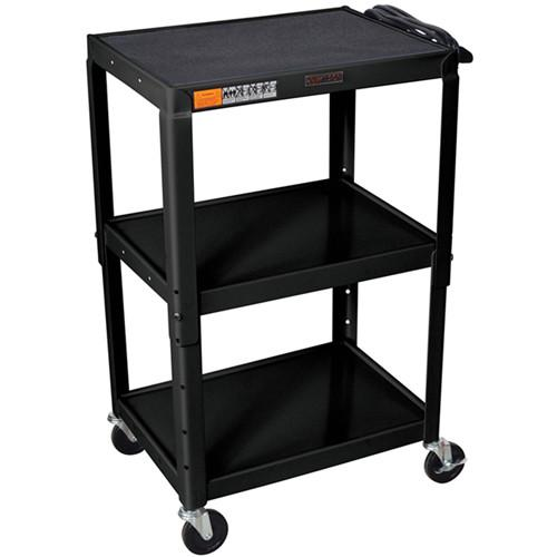 H. Wilson W42AE Metal Open Shelf Utility Cart W42AE