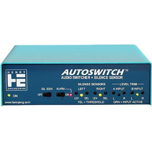 Henry Engineering Autoswitch - Audio Switcher and Silence AS