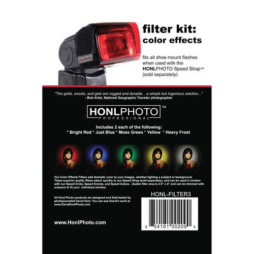 Honl Photo Color Effects Filter Kit for Honl Photo HONL-FILTER3