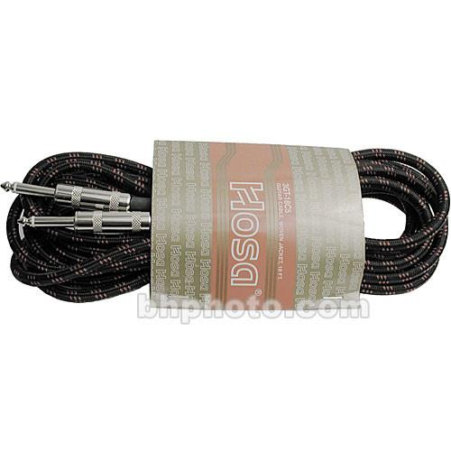 Hosa Technology 3GT Series Cloth Guitar Cable 3GT-18C5