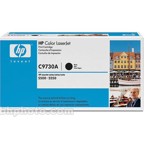 HP  Black Toner Cartridge C9730A