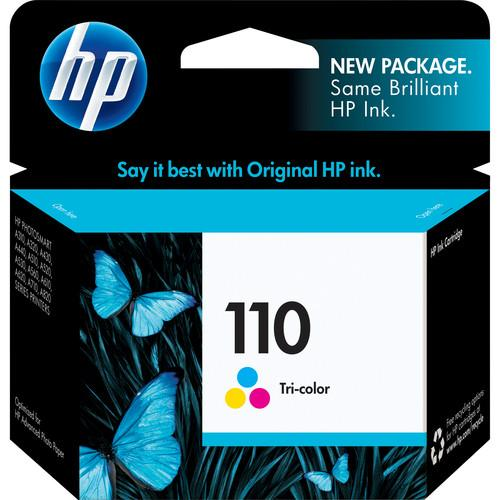 HP HP 110 Tri-color Inkjet Print Cartridge CB304AN#140