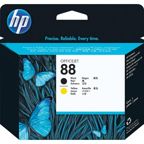 HP  HP 88 Printhead (Black and Yellow) C9381A