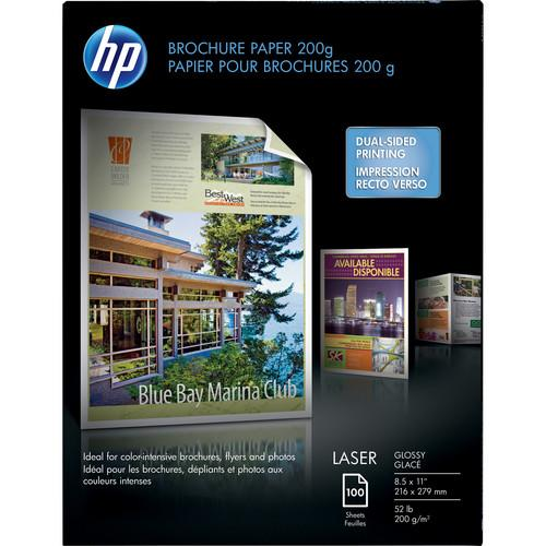 HP  Laser Glossy Brochure Paper Q6608A