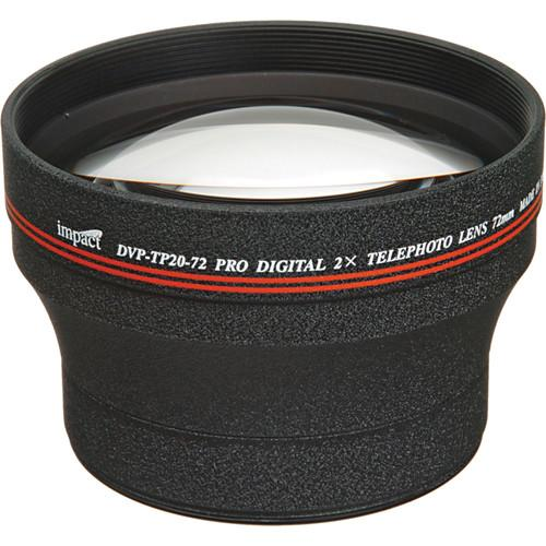 Impact DVP-TP20-72 72mm 2.0x High-grade Telephoto DVP-TP20-72
