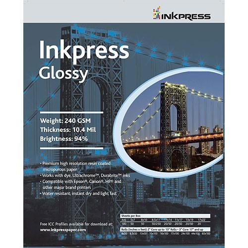 Inkpress Media Photochrome RC U-Glossy Paper - PCUG17100
