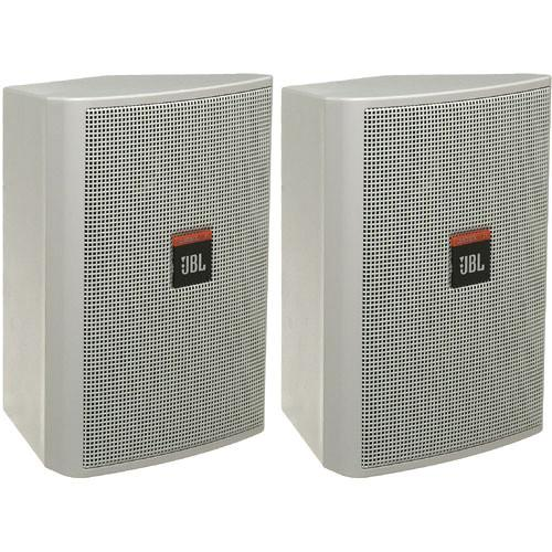 JBL Control 23 Ultra Compact Indoor/Outdoor CONTROL 23-WH