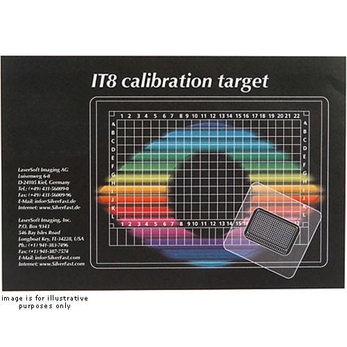LaserSoft Imaging Transparency IT8 6x7cm Calibration LA1111