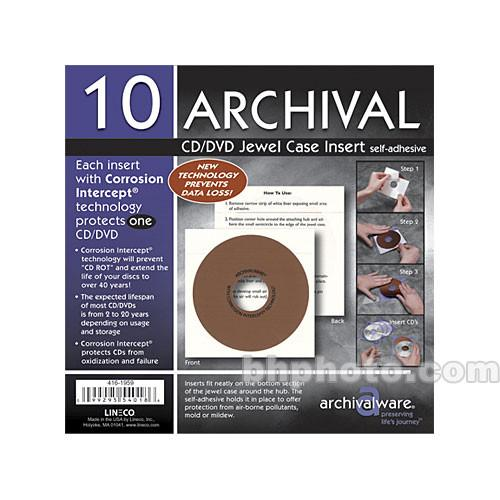 Lineco  Jewel Case Insert (100) 416-1960