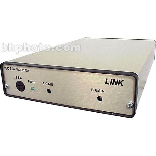 Link Electronics IEC-750 1x8 Distribution Amplifier IEC-750