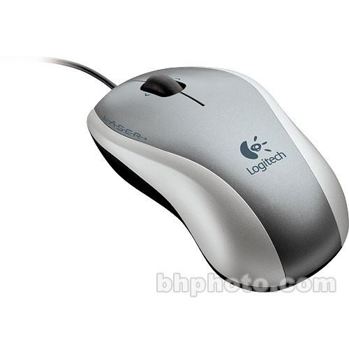 Logitech V150 Laser Mouse for Notebooks - USB 931755-0403