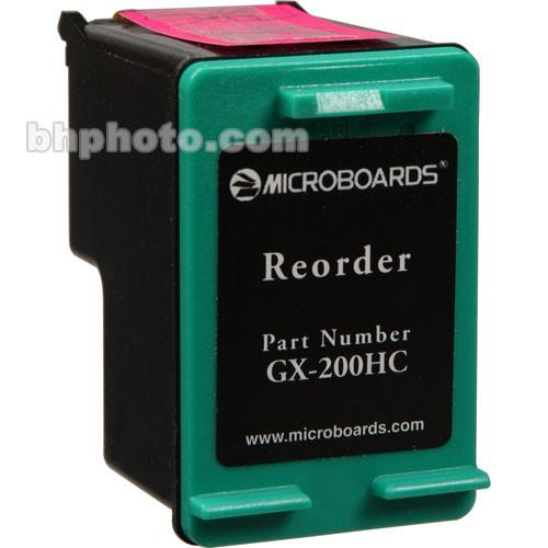 Microboards Tri-Color Ink Cartridge for GX-1 Disc GX-200HC