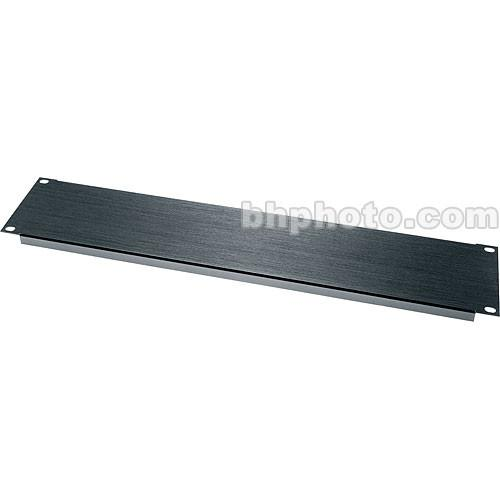 Middle Atlantic BL Series Flanged Blank Panel BL2 (Black) BL2