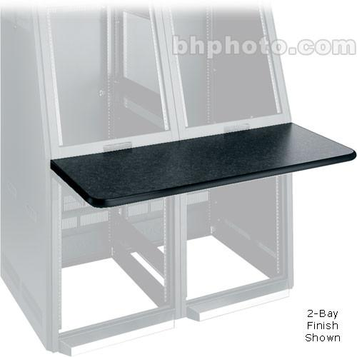 Middle Atlantic Console Work Surface Center (Black) WS2-S18-GBC