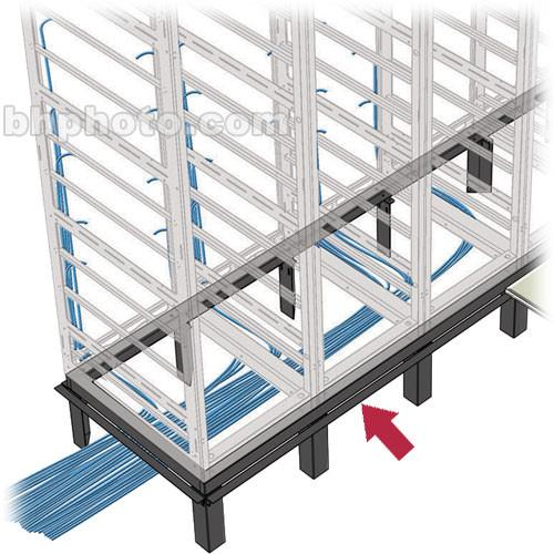 Middle Atlantic WANGLE-2 2-Bay Raised Floor Support WANGLE-2