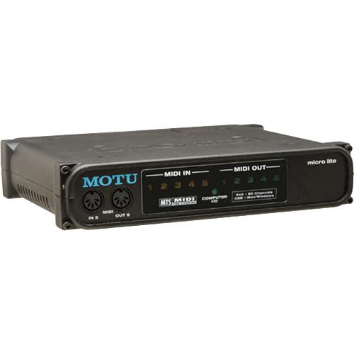 MOTU  micro lite MIDI Interface 5056