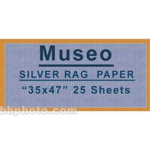 Museo Silver Rag Paper - 35x47