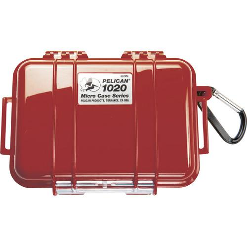 Pelican  1020 Micro Case (Solid Red) 1020-025-170