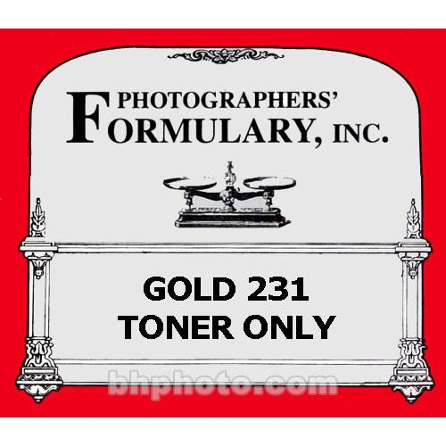 Photographers' Formulary Gold 231 Toner Only without 06-0211