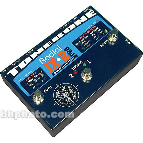 Radial Engineering JX-2 Switchbone Pro Amp Switcher R800 7080