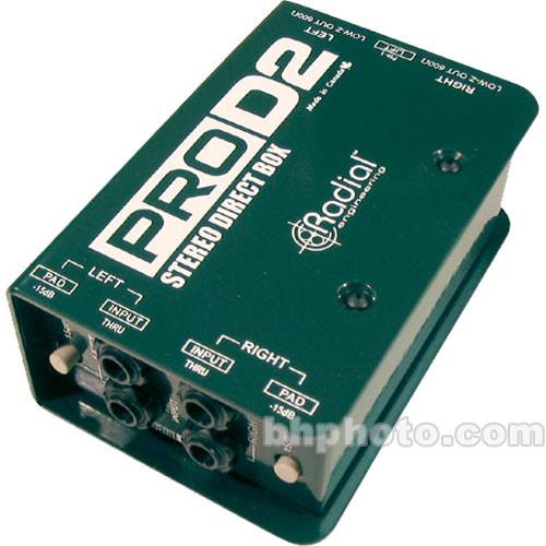 Radial Engineering  ProD2 Direct Box R800 1102