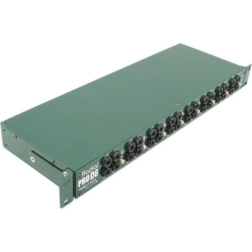 Radial Engineering ProD8 Rackmount Direct Box R800 1120