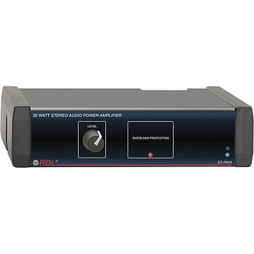 RDL EZ-PA20 20 Watt Stereo Power Amplifier EZ-PA20