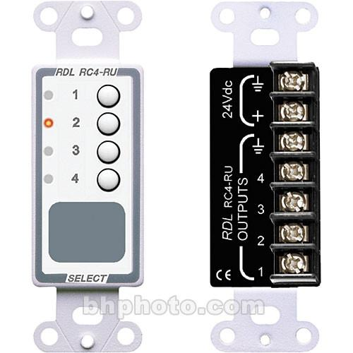 RDL  RC4-RU - 4-Channel Remote Control D-RC4RU