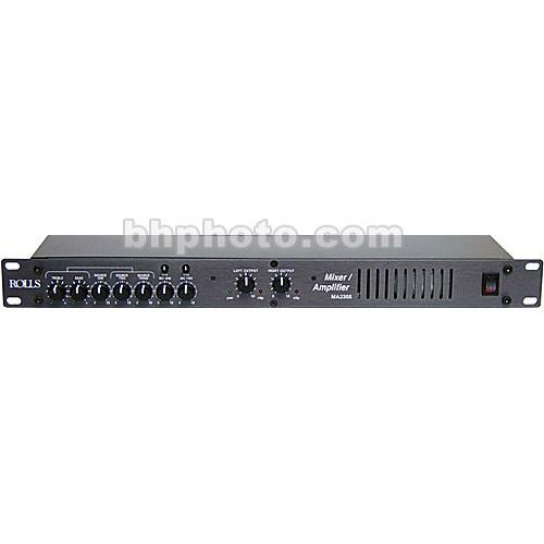 Rolls  MA2355 5-Input Mixer/Amplifier MA2355