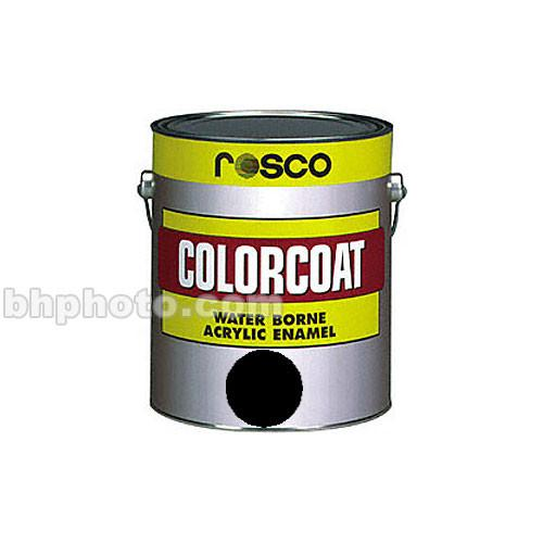 Rosco ColorCoat Paint - Black - 1 Qt. 150056340032