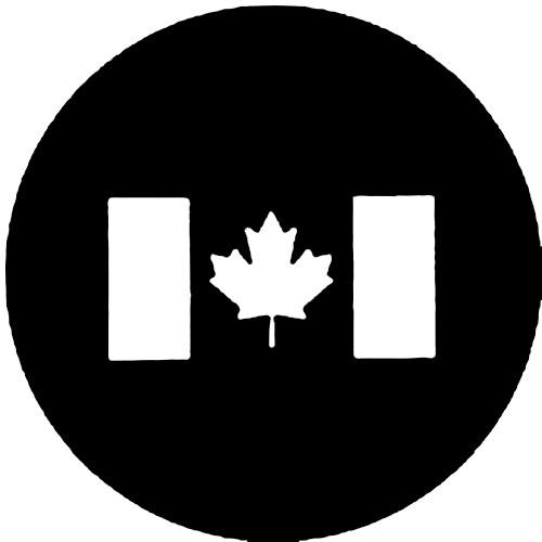 Rosco Steel Gobo #7210 - Canadian Flag 250772100860