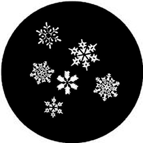 Rosco  Steel Gobo #7837 - Snowfall 250778370860