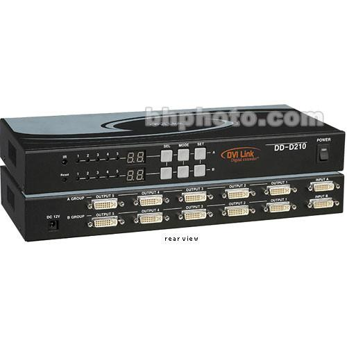 RTcom USA DD-D210 DVI Distribution Amplifier DD-D210