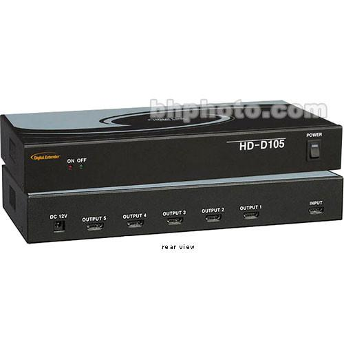 RTcom USA  HD-D105 HDMI Distributor HD-D105
